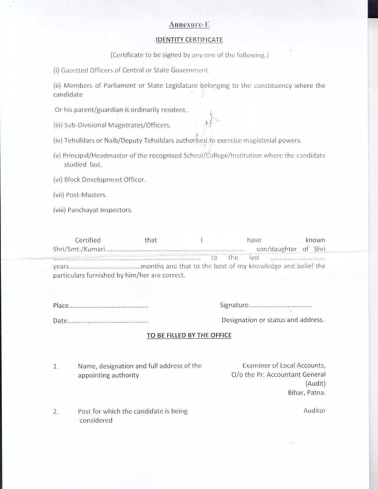 Appointment Letter Format Marathi Pdf Noc Sample  Home Design