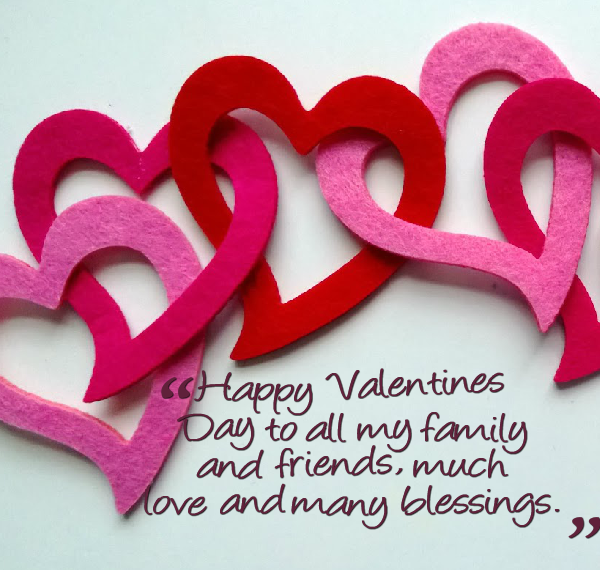 Happy Valentines Day For Friends Quotes: Valentines Day Quotes For Friends And Family