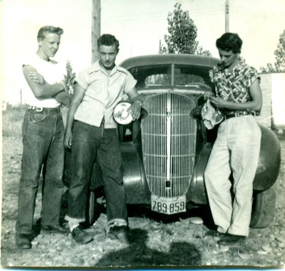 Pin on Global, Historic and Vintage Photos1950s Cars For Teenagers