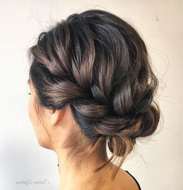 72 Romantic Wedding Hairstyle Trends in 2019 | Ecemella #messybraids