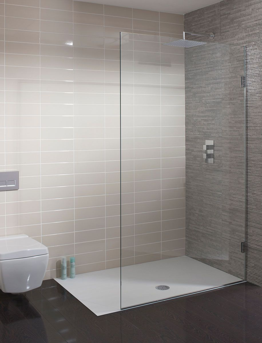 Ten Single Fixed Shower Panel In Frameless Luxury Bathrooms Uk Crosswater Holdings
