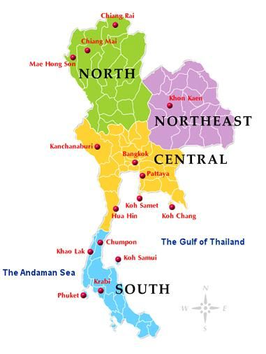 Different part of Thailand Going Places Pinterest