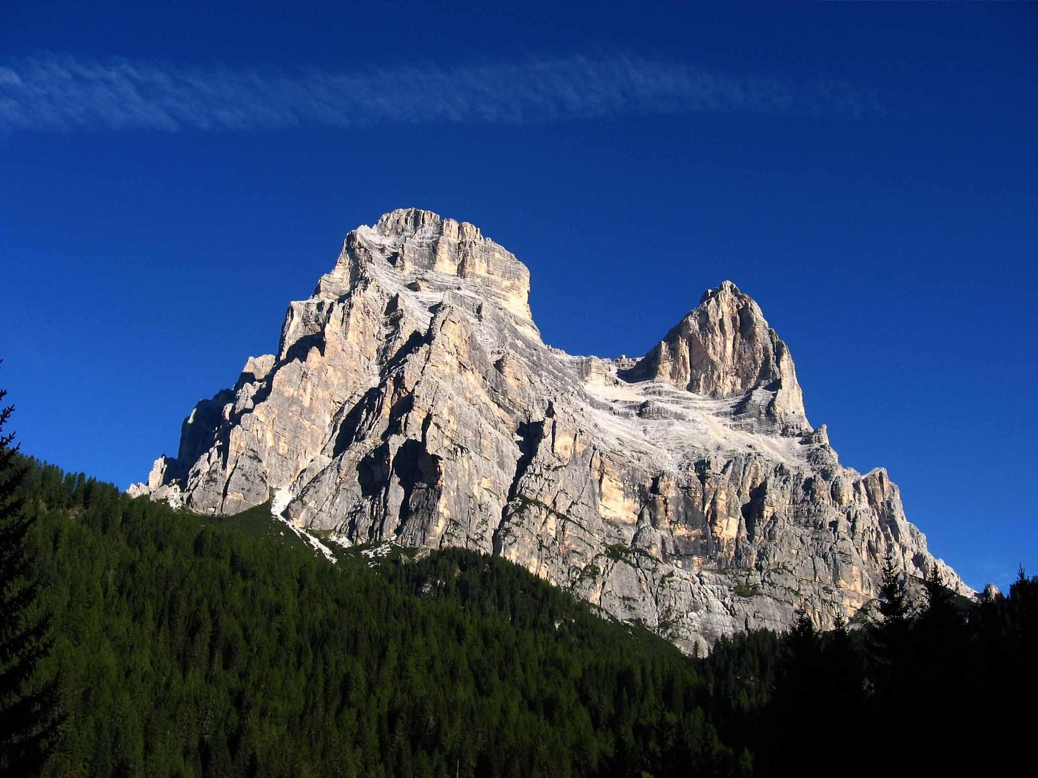 Monte Pelmo, Zoppe di Cadore, Belluno, Italia