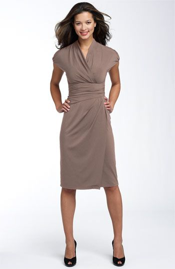 9564b3c8c9 finally a work-appropriate wrap dress. well, for business casual events  anyway. (i need all colors!)