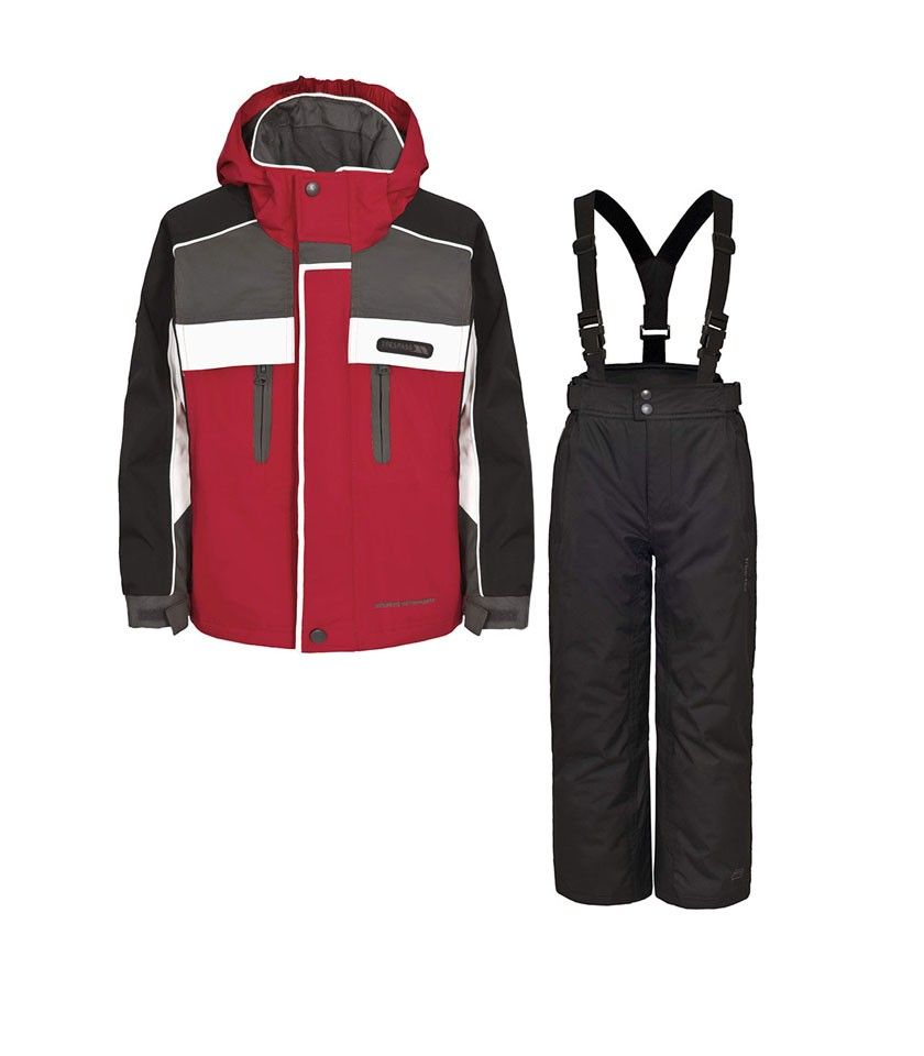 Red Sumaco Jacket and Salopettes - Trespass Ski - up to 70% off