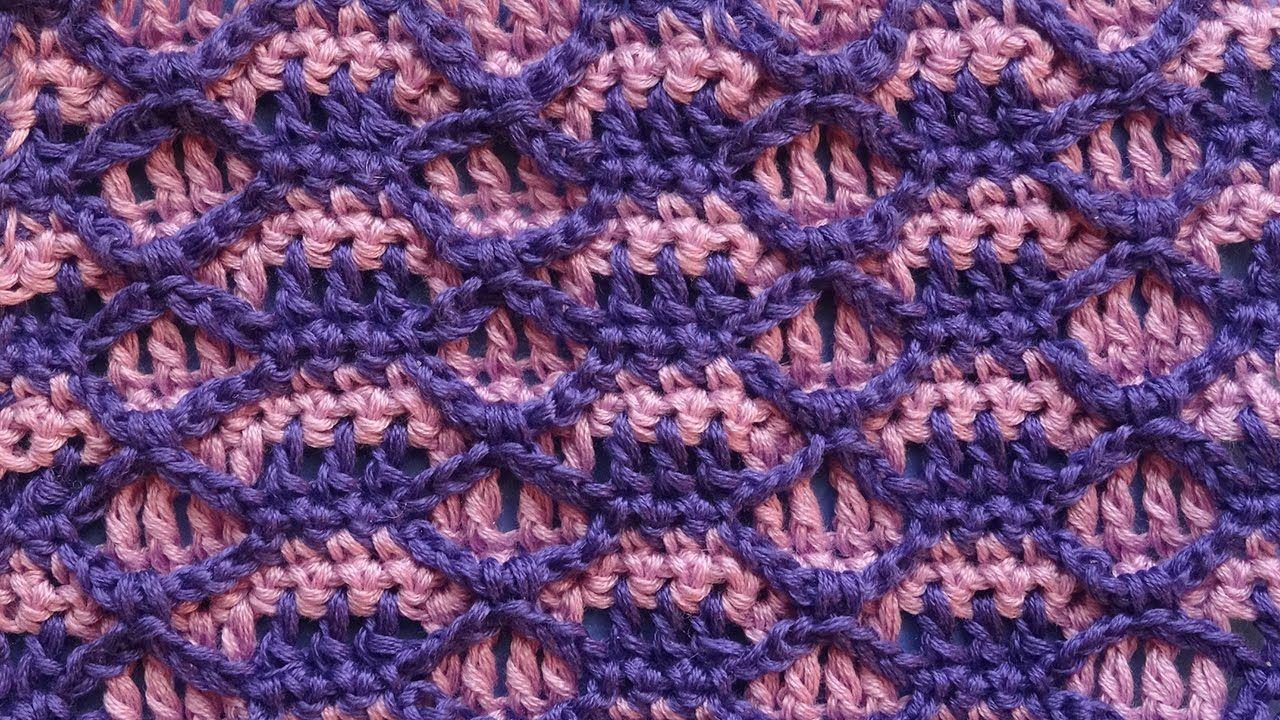 Узоры для вязания крючком 74 Crochet pattern | Patrones y puntos de ...