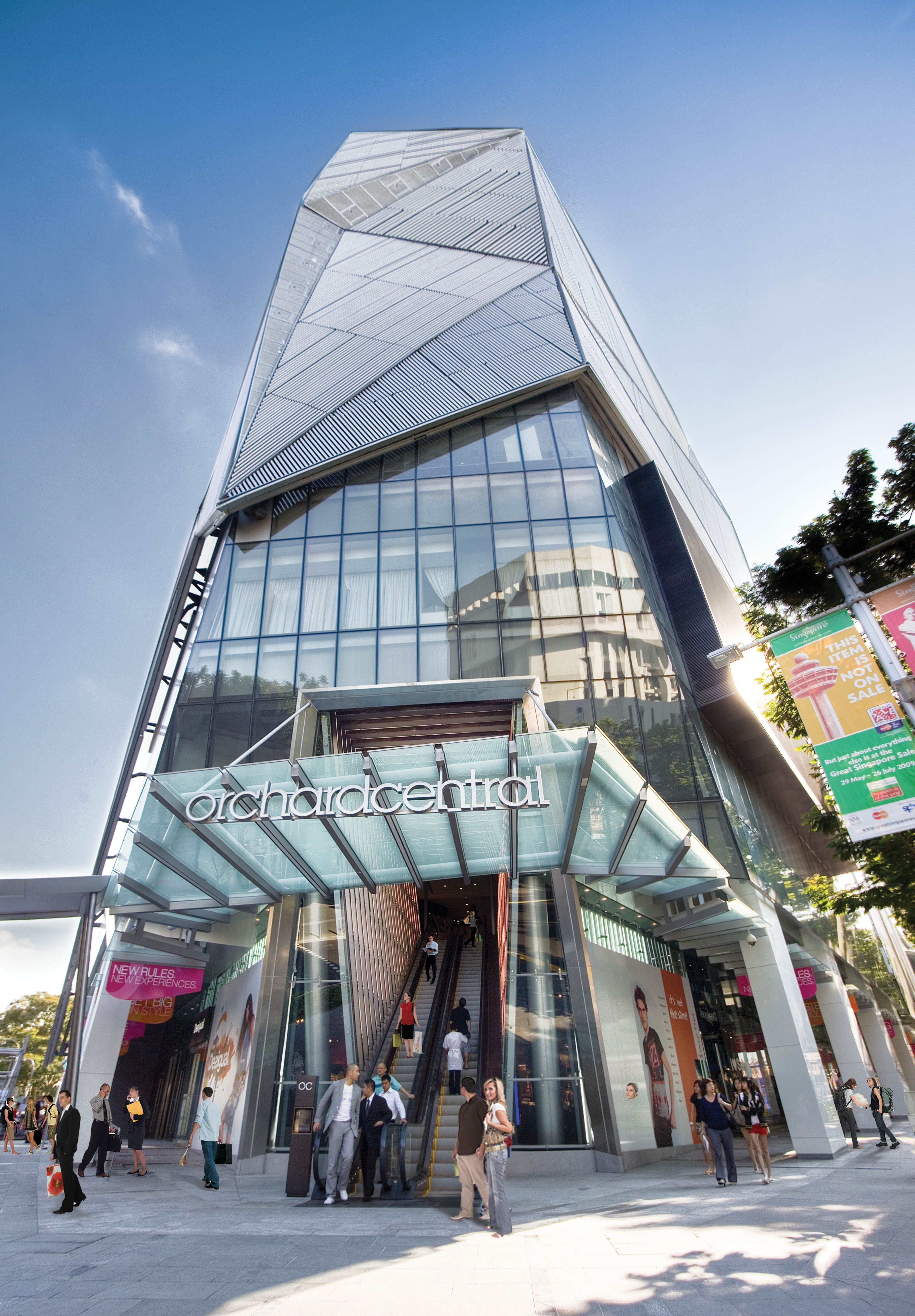 Home Orchard Central Far East Organization Mall Facade Shoping Mall Mall Design