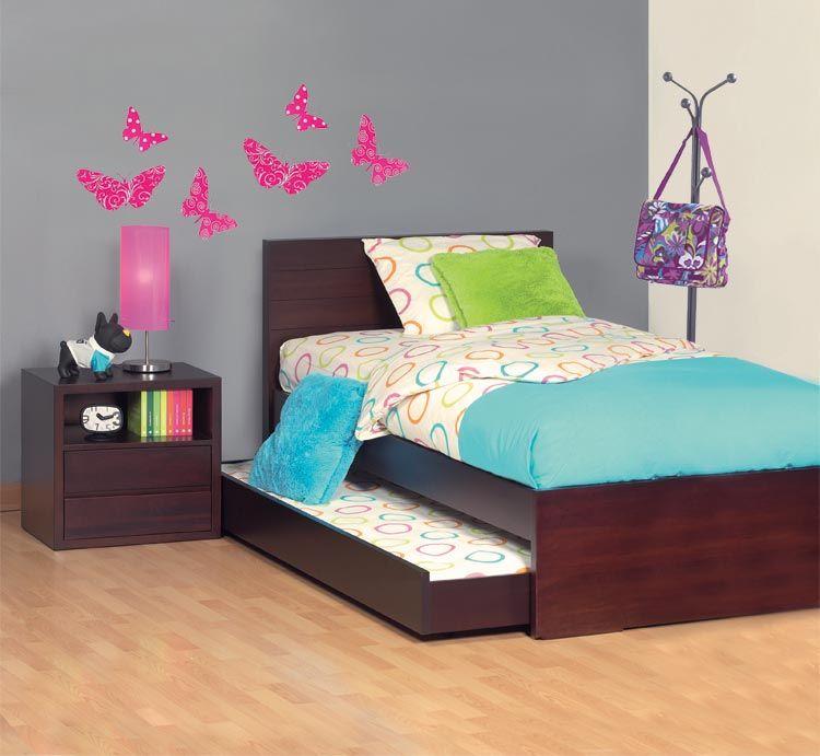 Cama tokio sencilla cama auxiliar mesa de noche kabul for Cama sencilla