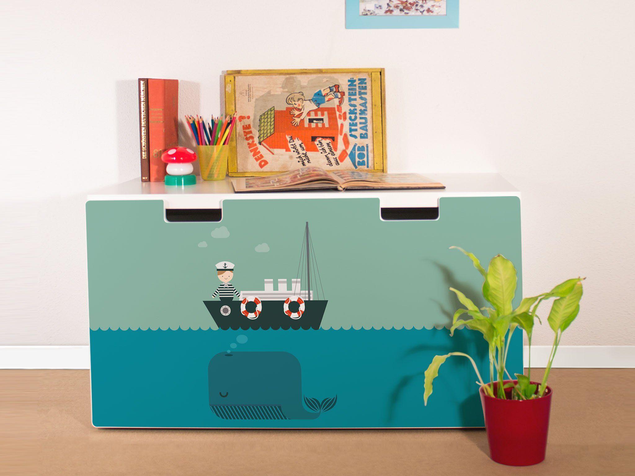 yourdea Sticker für Kinderzimmer IKEA Stuva Kommode mit Motiv ...