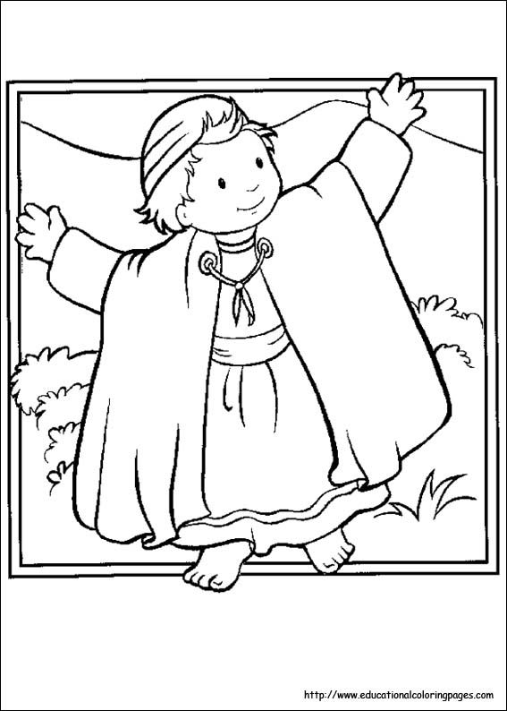 Childrens Bible Coloring Pages 2