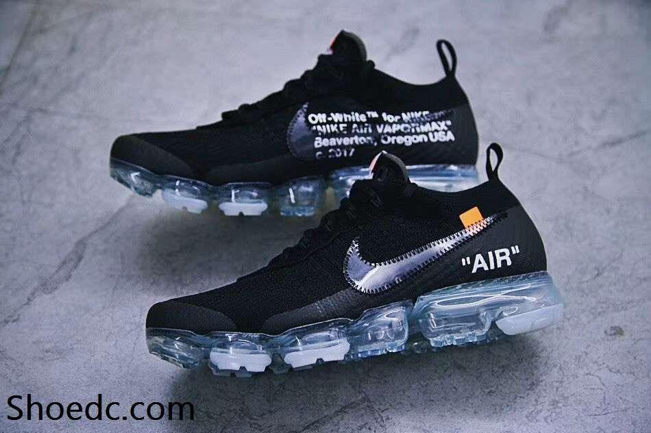 Nike Air Max Zero Off White White Total Orange Black Sneakers Men's Running Shoes