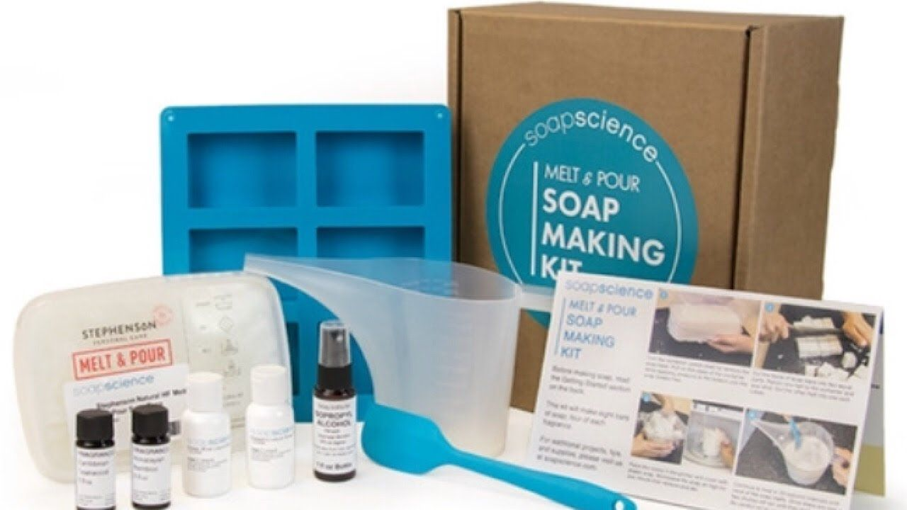Melt and Pour Soap Making Kit - Awesome Kit From