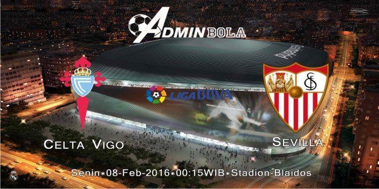 Prediksi Celta Vigo vs Sevilla 08 Februari 2016 Malaga