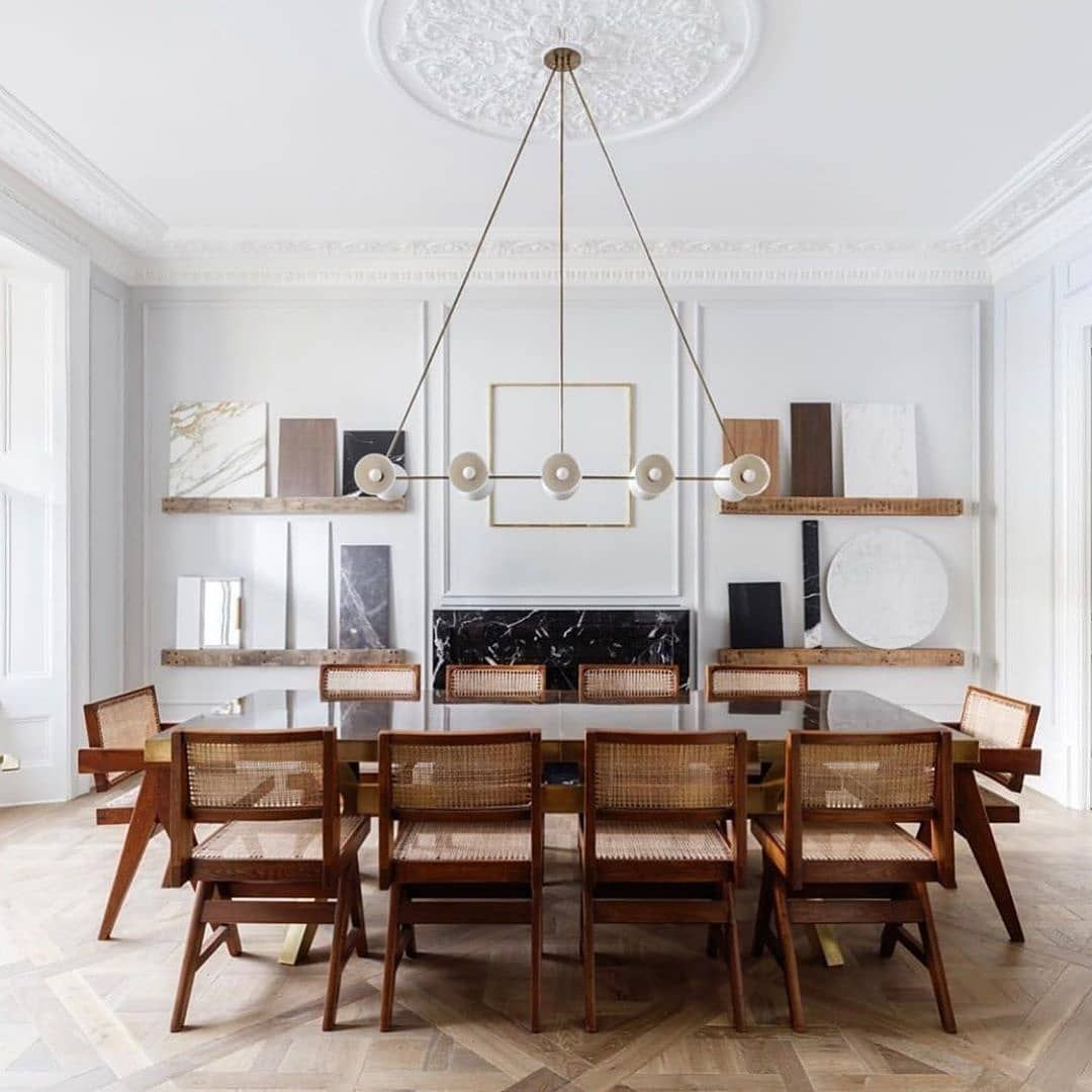 Floored Please Excuse Me While I Pack My Bags And Move Into This Dining Room Every Detail Is Such Pure P In 2020 Dining Room Design Dining Room Inspiration Interior