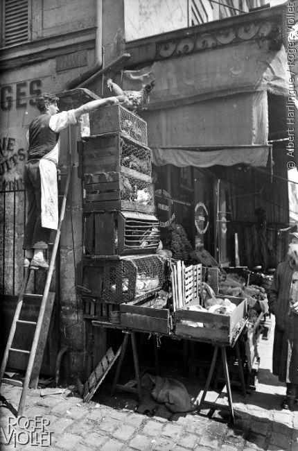Photos L Evolution Des Commerces De Bouche Parisiens Depuis 1900