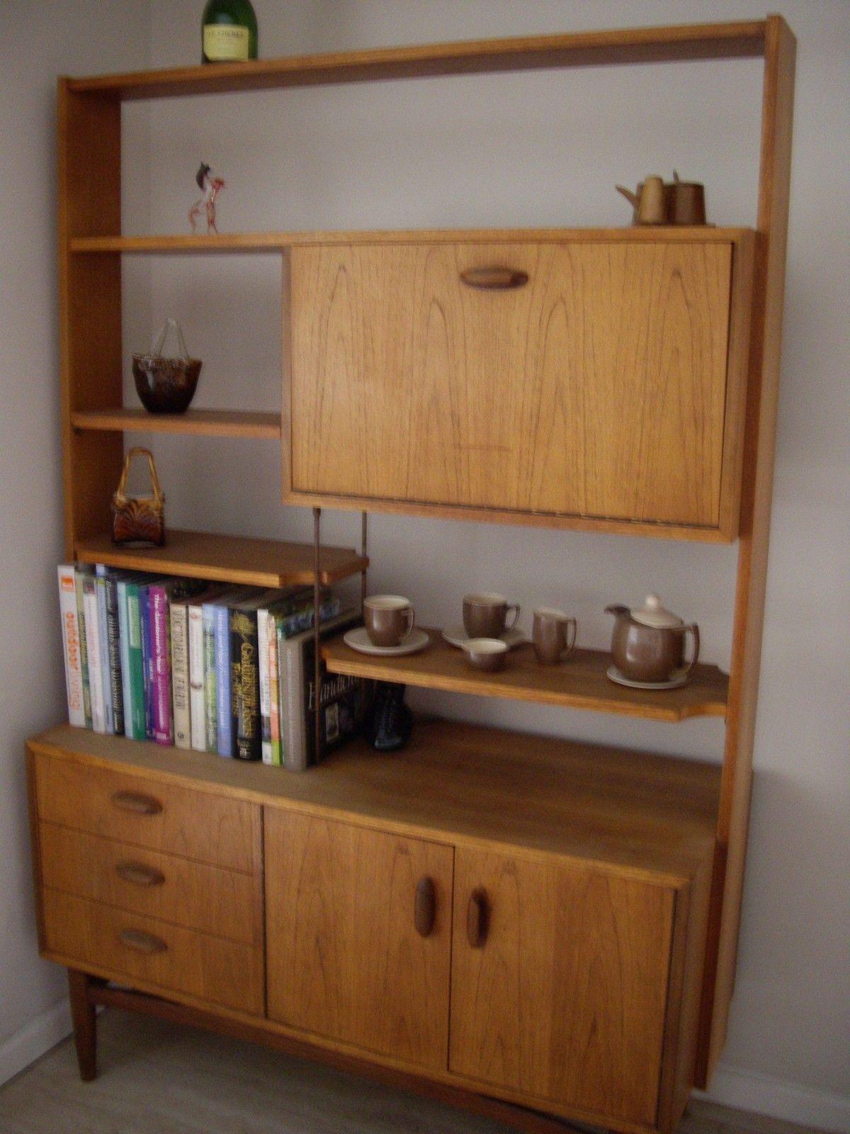 Pleasant Details About Retro 1960S 1970S Genuine G Plan Teak Room Interior Design Ideas Tzicisoteloinfo