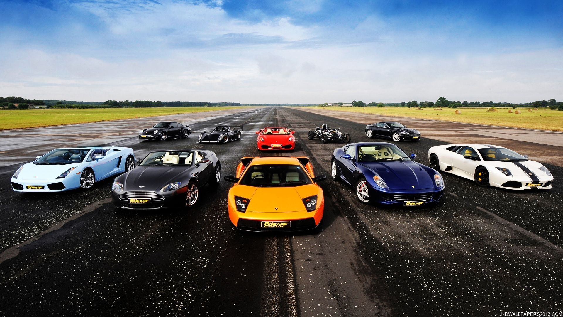 Top Gear Lineup Wallpaper 60469 Resolution 1920x1080 Px Sports Car Wallpaper New Sports Cars Hd Wallpapers Of Cars
