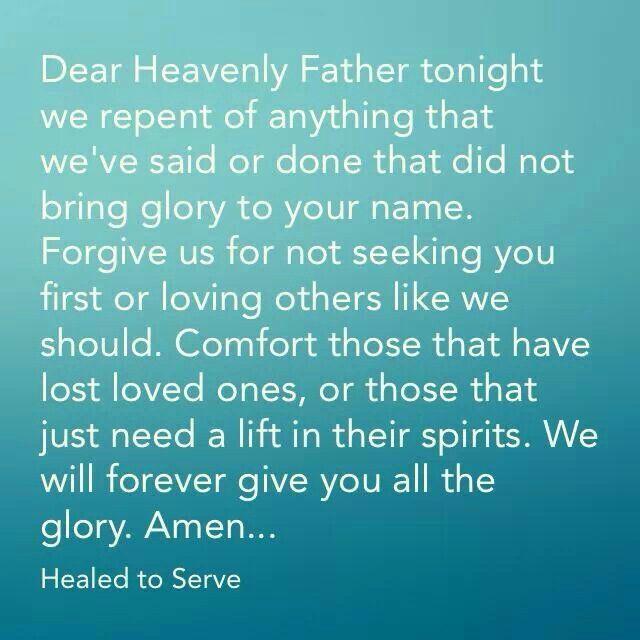 Night Time Prayer Quotes: A Night Time Prayer