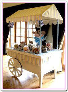 Diy Candy Cart Pics