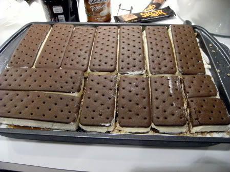 No baking no mixing no measuringDELICIOUS Sandwich cake