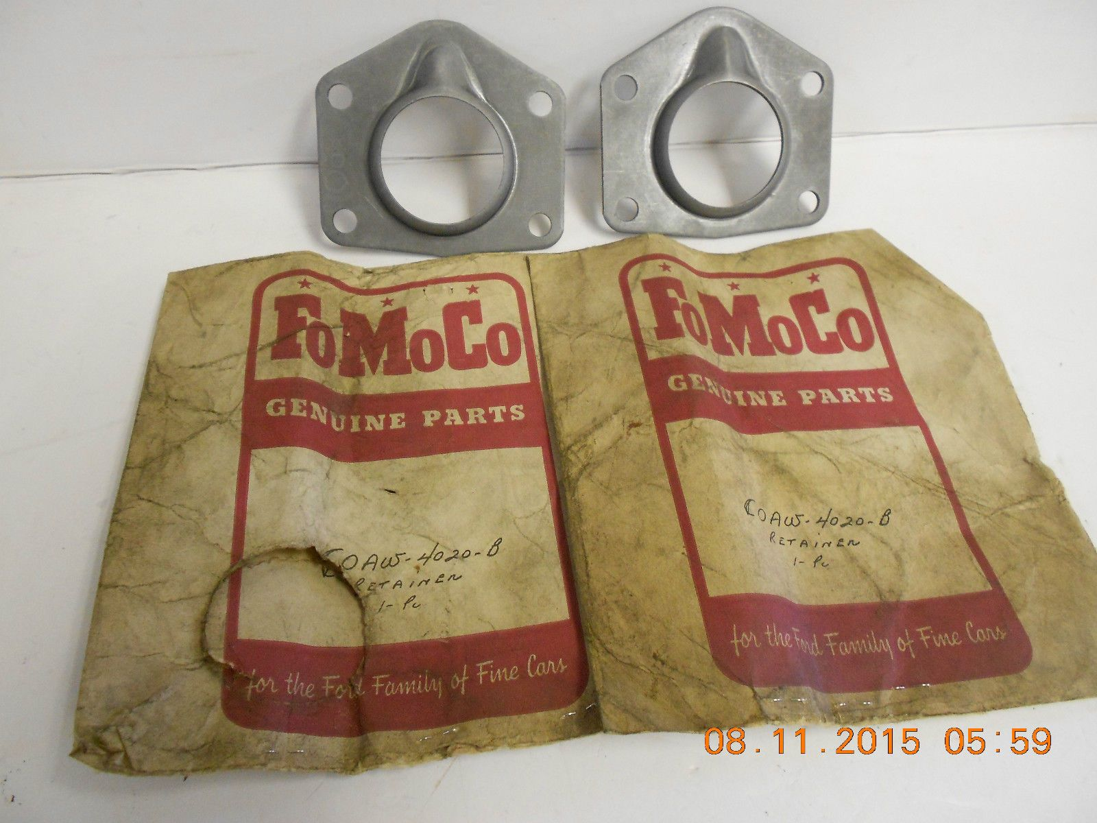 1963 ford galaxie parts ebay - Rear Wheel Bearing Outer Retainer Mustang Fairlane Falcon Cougar Galaxie Ebay