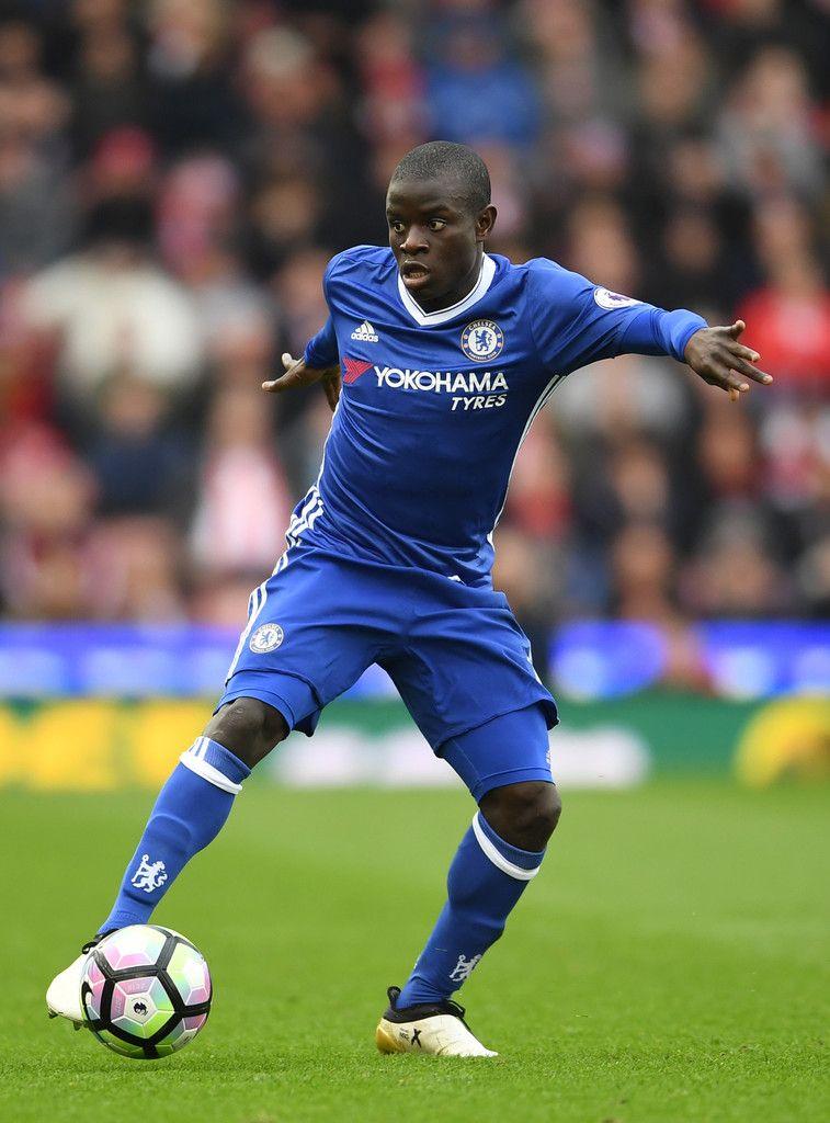 711c711b6 N'Golo Kante Photos Photos - Stoke City v Chelsea - Premier League - Zimbio