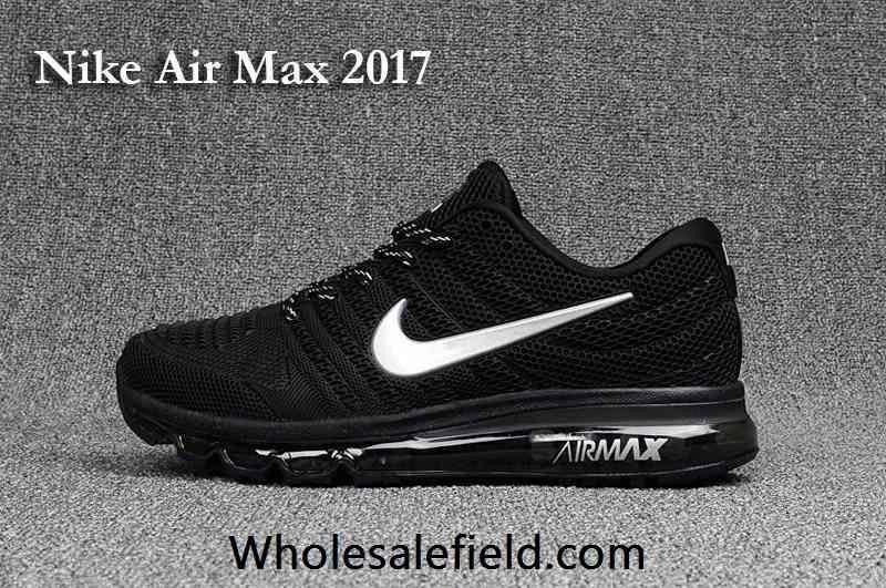 18e897c036 New Nike Air Max 2017 3.0 KPU Men Black White Tick | Men's Sneakers ...