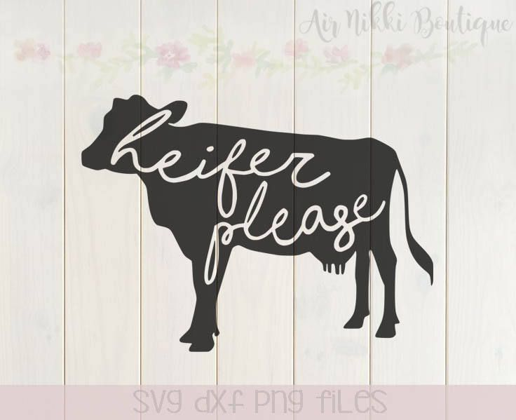 Download Heifer Please, cow, SVG, PNG, Studio3 files, instant ...