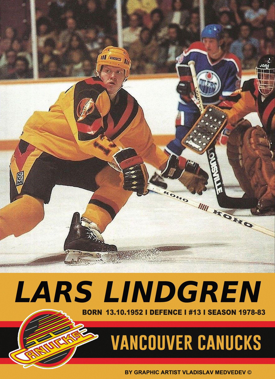 Lars Lindgren #швеция #НХЛ #канада #сборнаяшвеции #хоккей #icehockey #sweden #sverige #vancouvercanucks #canada #NHL