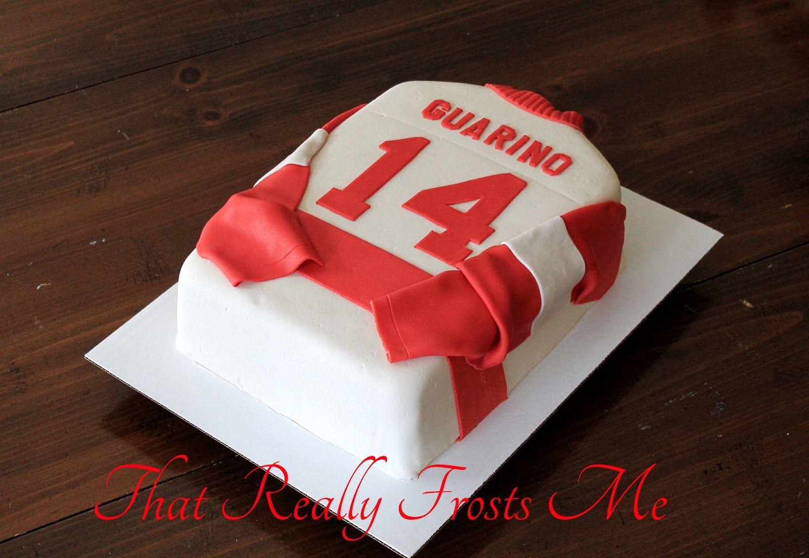 Hockey Jersey Cake Cake Cupcake Cakes Hockey Cakes