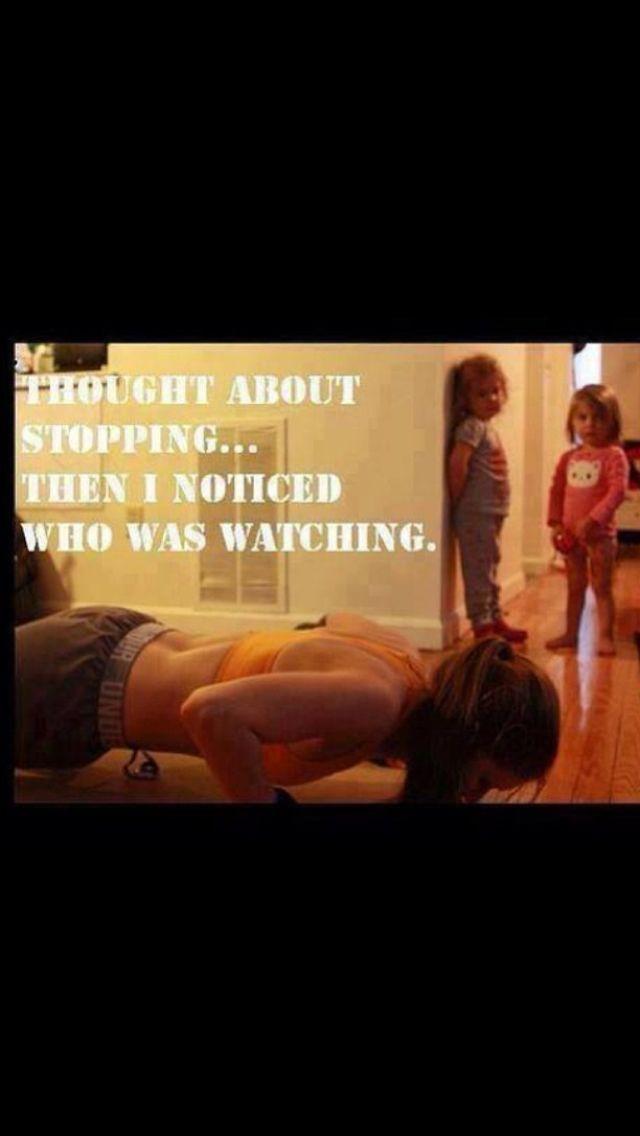 Our children are always the best motivation
