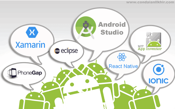 كن داعيا للخير 6 بدائل لبرنامج اندرويد ستوديو Android Studio Alternatives Android Studio Android Studio
