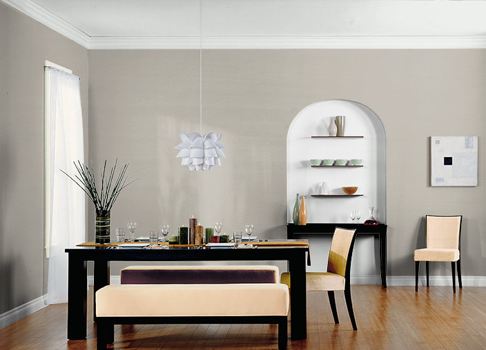 This Is The Project I Created On Behr.com. I Used These Colors: GREY MIST (HDC CT 21),