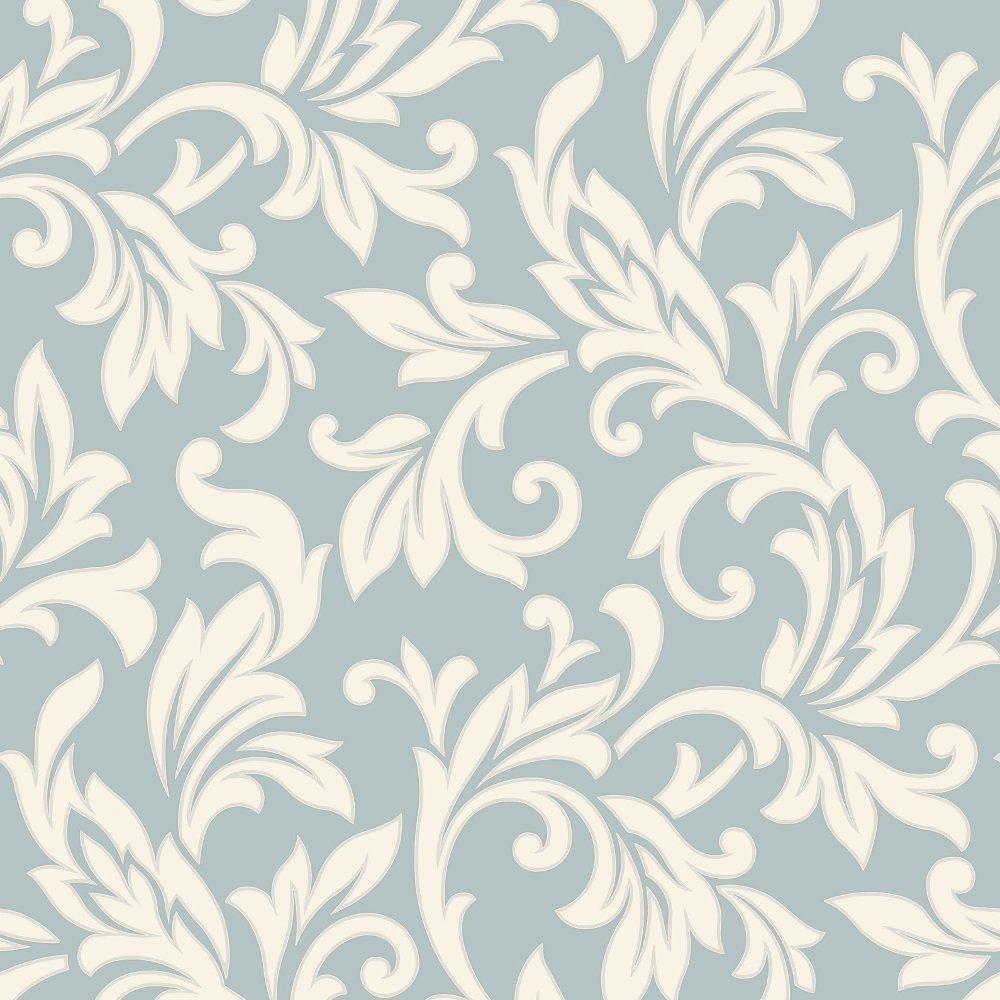 Rasch Allure Damask Pattern Pearl Ivory Motif Glitter Embossed