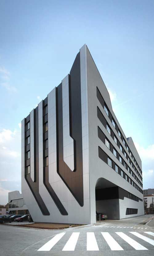 Architecture Of Sof Hotel J Mayer H Architects And Ovotz Design Krakow Poland