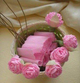 rosas de papel crep paso a paso para hacer en casa - Hacer Rosas De Papel