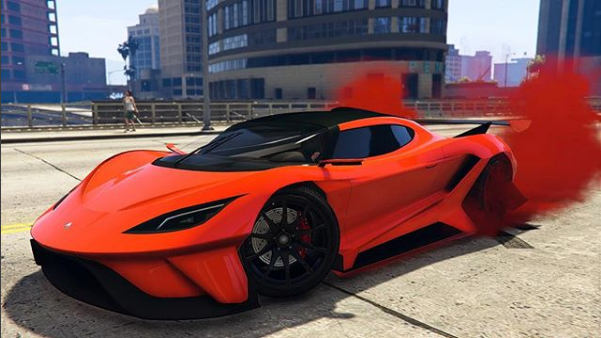 Grand Theft Auto Crew Color Paint Jobs OVERFLOD TYRANT