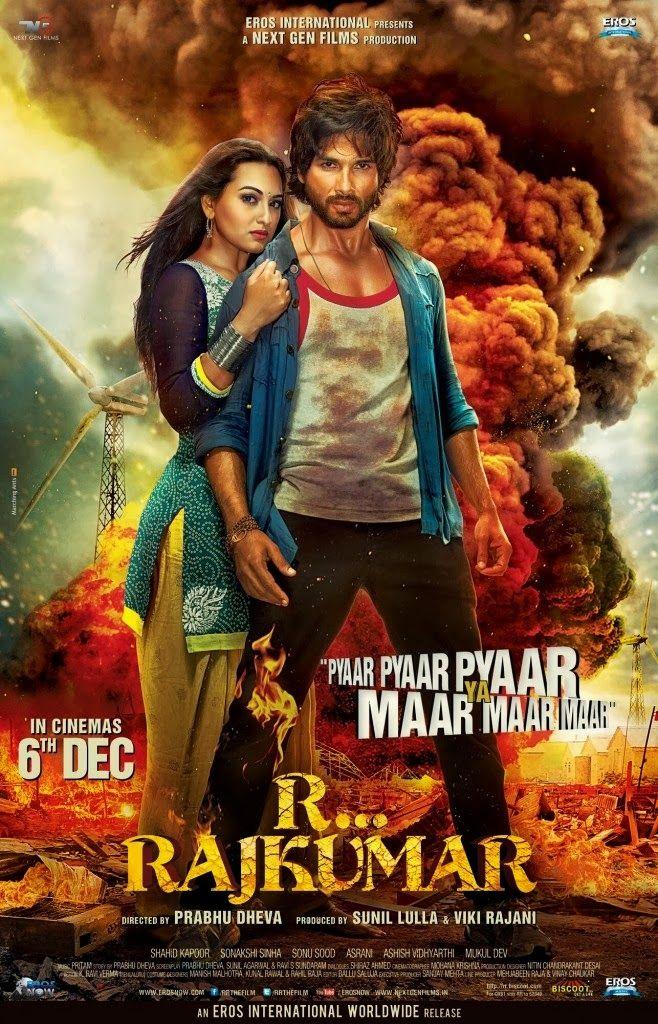 Shahid Kapoor Sonakshi Sinha S Rambo Rajkumar Theatrical Trailer And Posters Hindi Movie Song R Rajkumar Hindi Movies