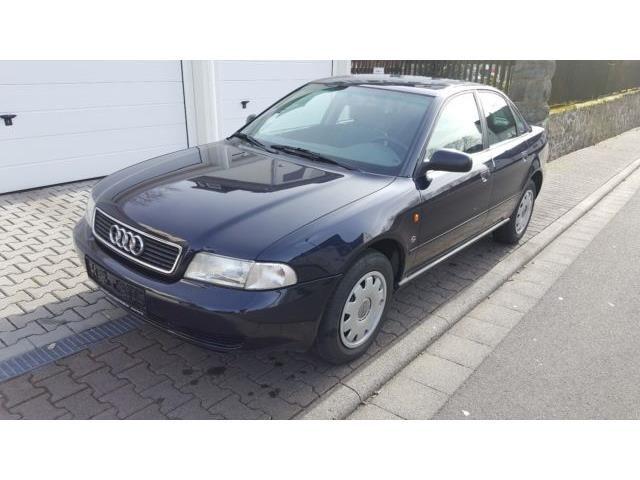 Audi A4 1 6 Org 50tkm 1hand Tuv Neu Blau 1