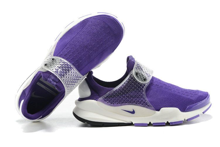 hot sale online 1d54e cc079 Girl WMNS Nike Sock Dart Fragment Design X Club Purple White ...