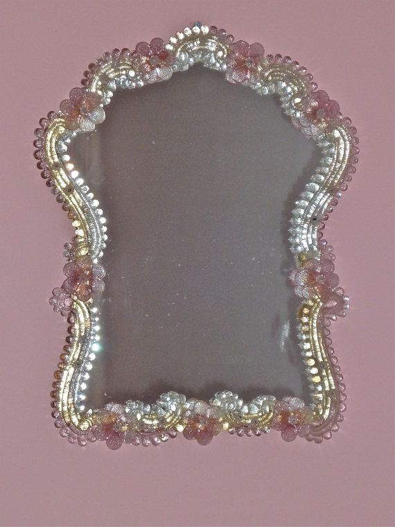 Vintage Large Venetian Murano Gl Mirror By Thefrenchie 310 00