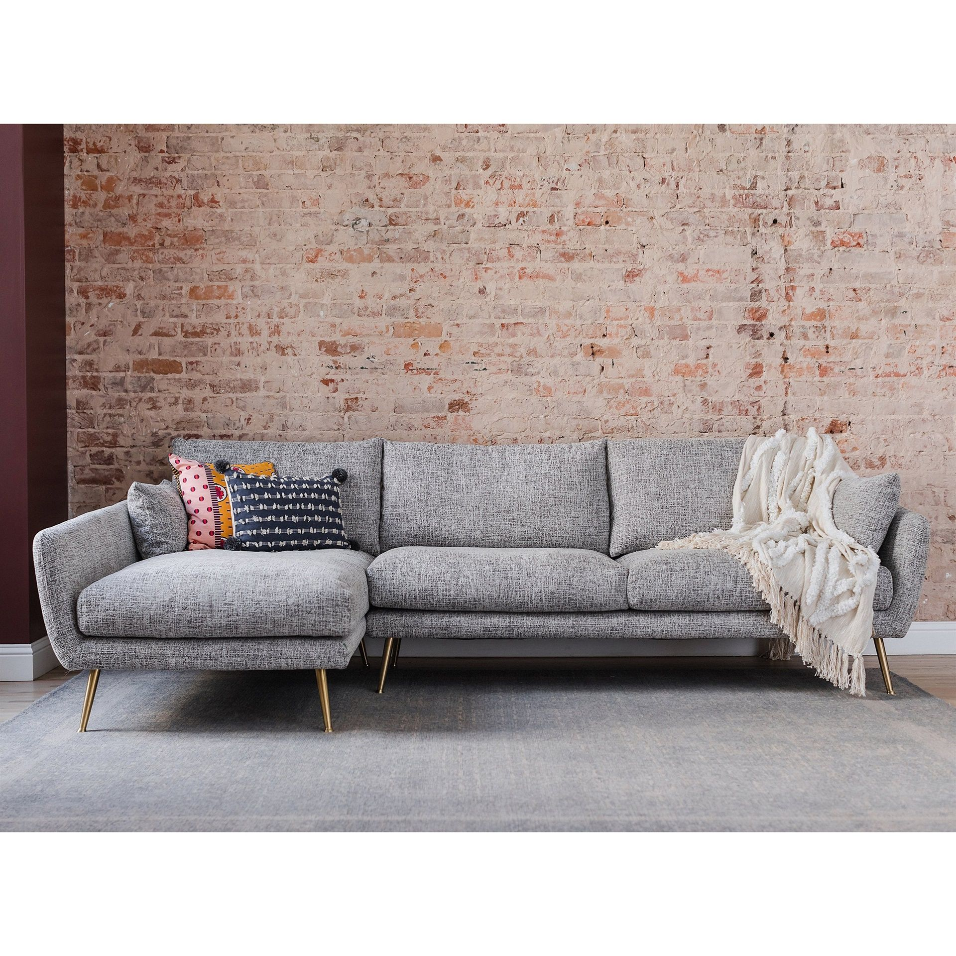 Harlow Sectional Sofa In 2021 Modern Sofa Sectional Mid Century Modern Sectional Sofa Sectional Sofa