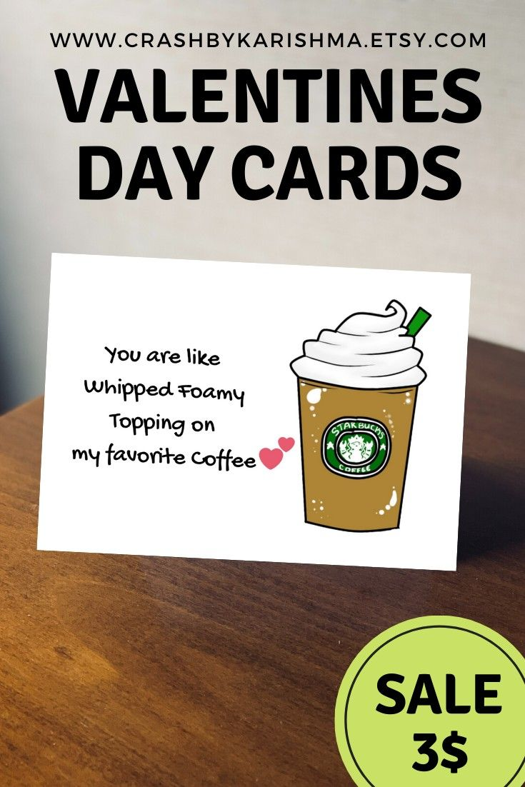 Coffee card you are like whipped foamy topping on my