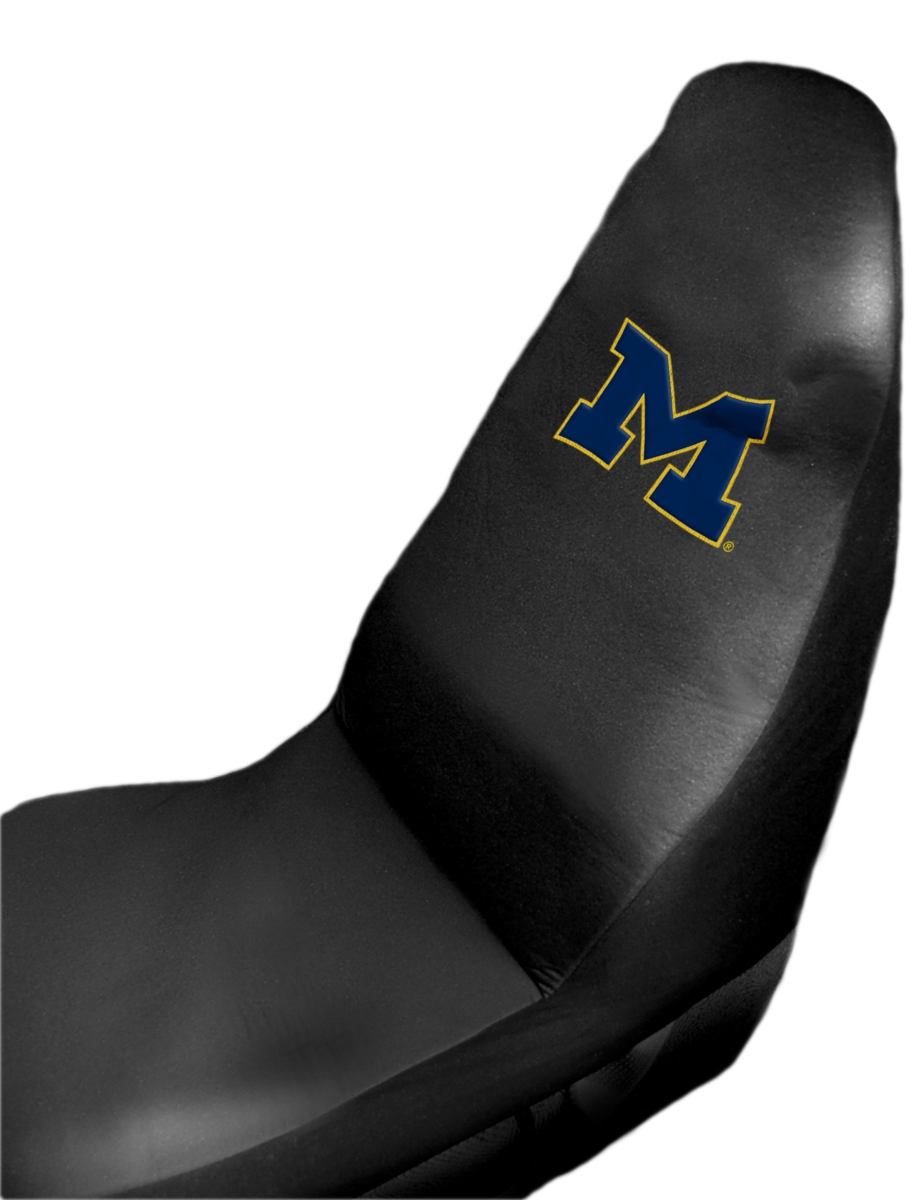 Michigan OFFICIAL Collegiate 51x 21 Car Seat Cover By The Northwest Company