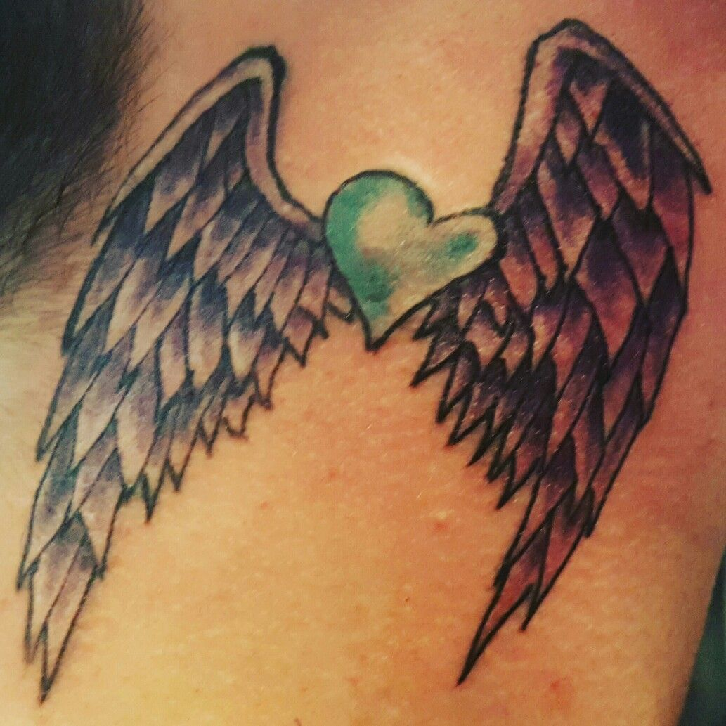 #angelwings #angelwingstattoo