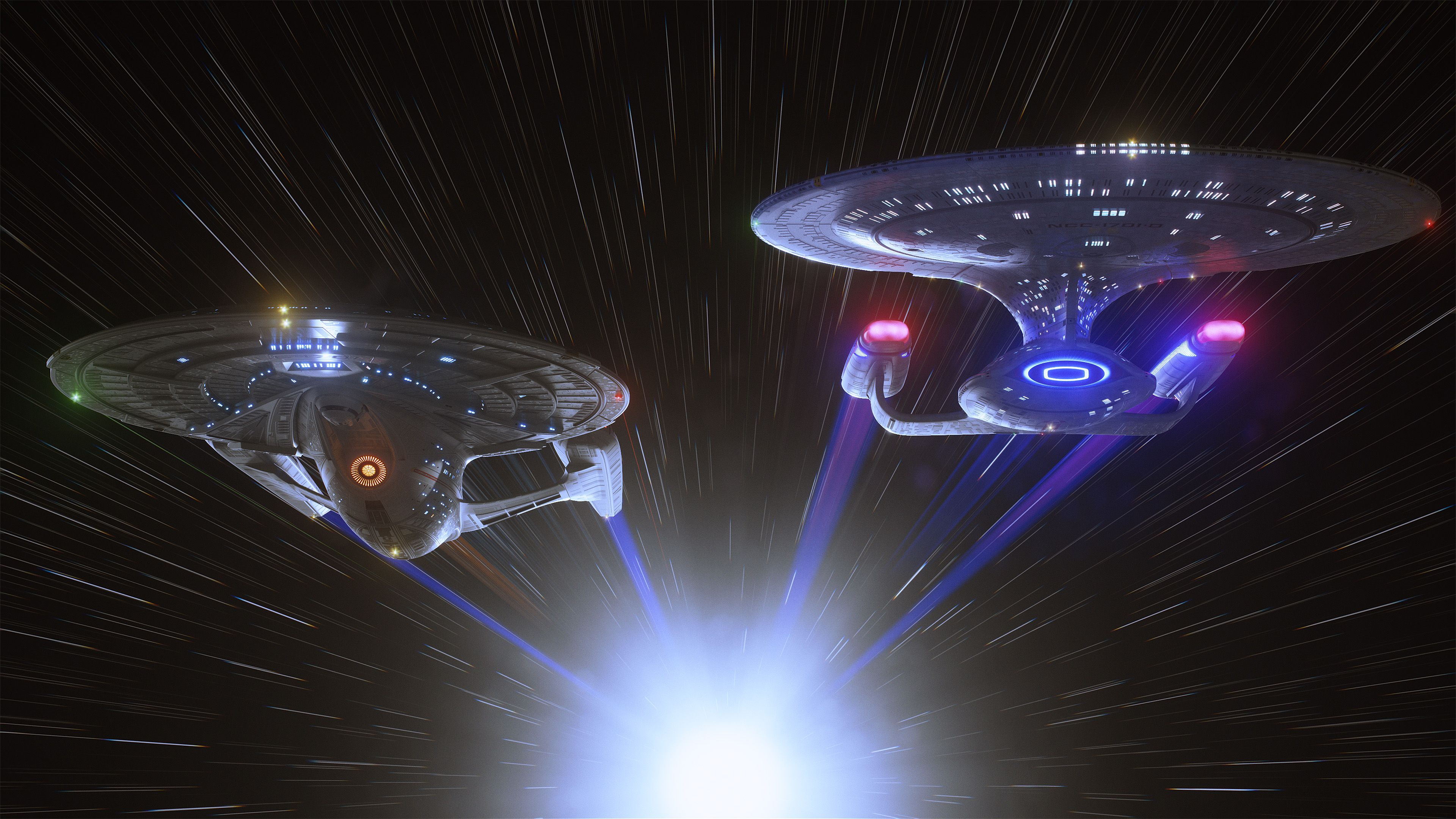 Star Trek Computer Wallpapers Desktop Backgrounds 3840x2160 Id 518756 Star Trek Wallpaper Star Trek Art Star Trek Ships