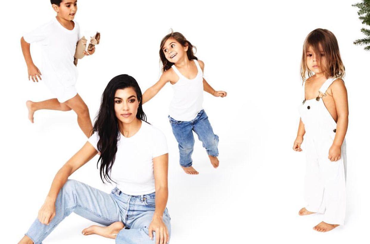 Kourtney Kardashian Kourtney Kardashian Kardashian Christmas Kardashian Christmas Card