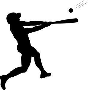 Girl Baseball Batter Clipart Baseball Girls Baseball Batter Baseball