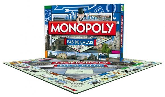 Monopoly édition Pas-de-Calais