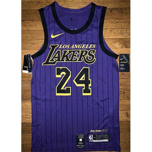 Los Angeles Lakers Nike City Edition Swingman Jersey – Kobe Bryant ...